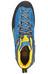 La Sportiva Boulder X Mid Shoes Men Blue/Yellow